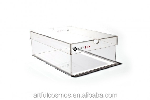 2017 New slide out acrylic shoe box with high quality