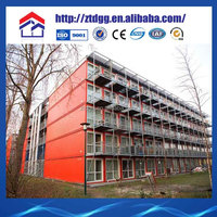 Shipping container apartment building steel structure container homes steel container hotel for sales