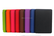 good quality flip minion leather case for amazon kindle paperwhite with magnetic