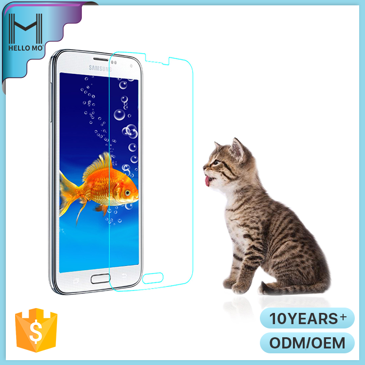 Hello Mo 9H premium mobile phone screen protective film for sumsang galaxy s5