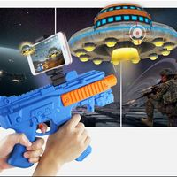 VR AR Game Gun With Cell