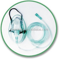 sterile oxygen mask with CE disposable nebulizer mask S/M/L