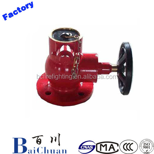 2''Fire Hose Landing Valve / Fire Hydrant with Chain/Fire Hydrant Valve
