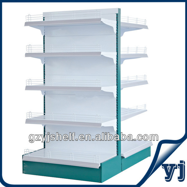 Hot New Products for 2014 Steel Gondola Shelving Display Grocery Store Shelf/ Metal Supermarket Shelf Store Display