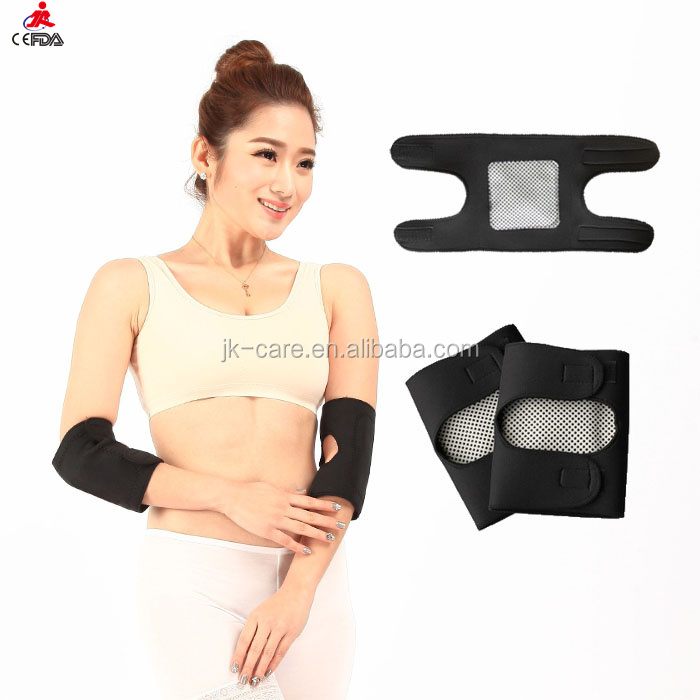 magnetic tennis arm elbow brace support medical heated elbow wraps / pads for arthritis pain relief