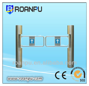 2 way auto swing gate with a pass speed of 40 persons/minute