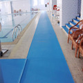 Plastic PVC Foam Anti Non Slip Swimming Pool / Bath Floor Mat