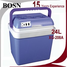 top selling 12V 24L multifunctional mini fridge for vaccine blood interferon cosmetics