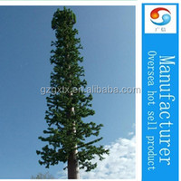 Camouflaged natural cedar tree tower china manufacturers/steel telecommunication monopole tower