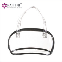 Factory supply simple transparent Clear PVC Travel Cosmetic Bag