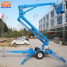 CE approved 6-18m Hydraulic trailer mounted compact boom lift