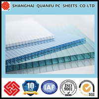 PC hollow sheets lowes solar polycarbonate panel