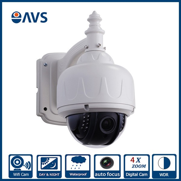 High Quality Small <strong>Wifi</strong> P2P Waterproof IP66 4X Zoom Autofocus IP Speed Dome Camera