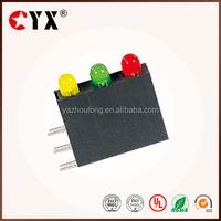 3mm 90 degree LED spacer support 3 lights