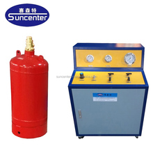 Fire extinguisher FM200/HFC-227ea/NOVEC refilling equipment