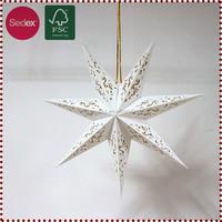 rock stone garden light star lanterns as 2014 new year gift
