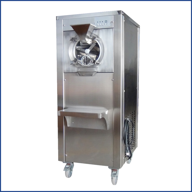 Hourly 20 Liters Commercial Hard Ice Cream Gelato Machine Batch Freezer