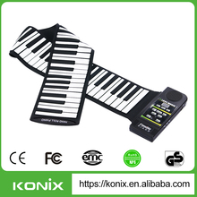 Newest 88 Keys Electronic Roll up Piano, Music Instrument Piano with Midi Out