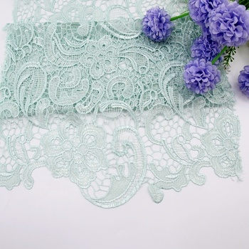 2019 New products chemical lace fabric bridal material