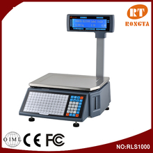 2016 Electronic Digital Weighing Scale For Supermarket And Fruit Store RLS1000