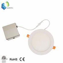 Competitive price ETL(5004879) led <strong>flat</strong> panel lighting with isolated driver junction box for USA&amp;Canada