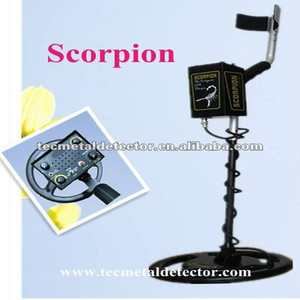 gold searching machine of high quality and sensitivity, TEC-Scorpion, treasure finder