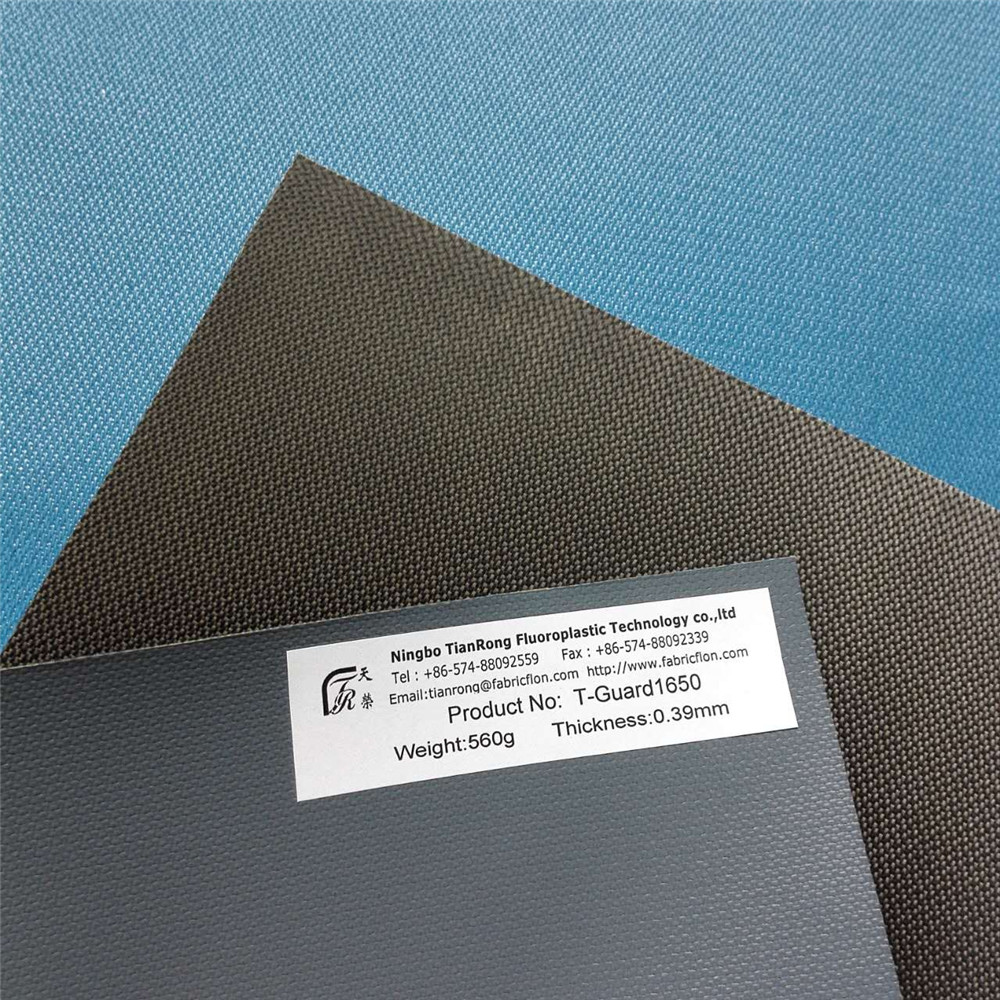 PTFE Coated Glass Non Flammable Fabric Material