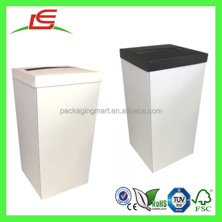 Q1126 China Alibaba Wholesale White Large Card Wedding Post Box With Colored Lid