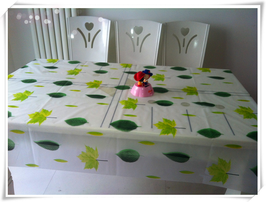 New style and printing Environmental protection peva table cloth
