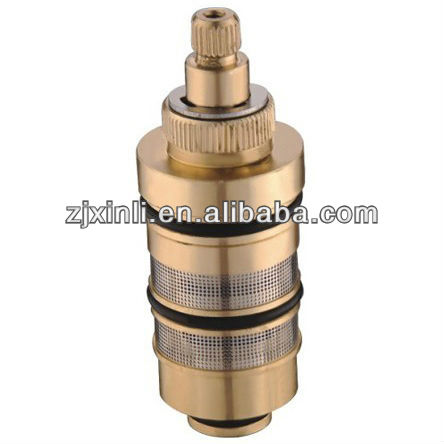 High Quality Brass Thermostatic Faucet Cartridge, France Vernet Probe, Stainless Steel Filter