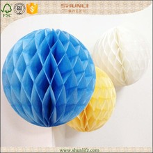 Denmark fashion new celebration products for party decoration 28g tissue paper honeycomb ball