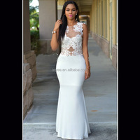 Sexy Evening Party dresses women nice white straight dresses in stock