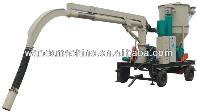 sugar, corn, wheat, seeds ,Corn Pneumatic vacuum Conveyor for unloading bulk ships