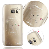 For Samsung Note5 Gemini Crystal zodiac crashworthiness phone case