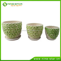 Professional Factory Cheap Wholesale Custom Design Ceramic flower pot from China manufacturer