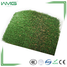 High Qualuty 3/8 Inch Flat Yarn Decorative Landscape Cesped Artificial Grass