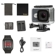 SHOOT 14MP Full HD 1080P Action Camera, 4K Action Camera Be Unique with 2.4G Remote