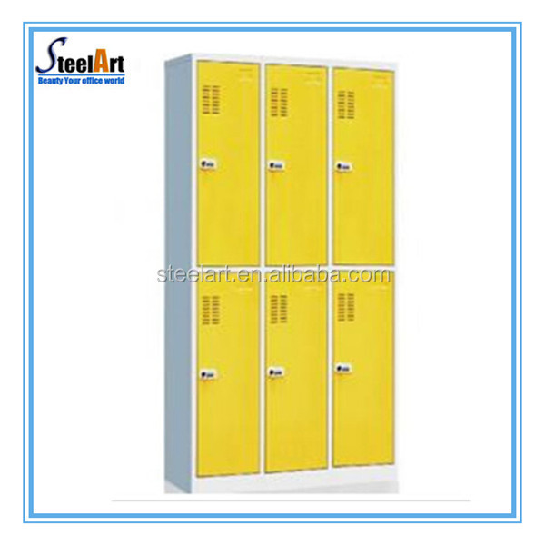 steel storage locker metal salon color cabinet
