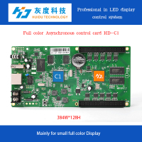 HD-C1 RGB full color Display Outdoor LED advertising Signs controller xxx pictures