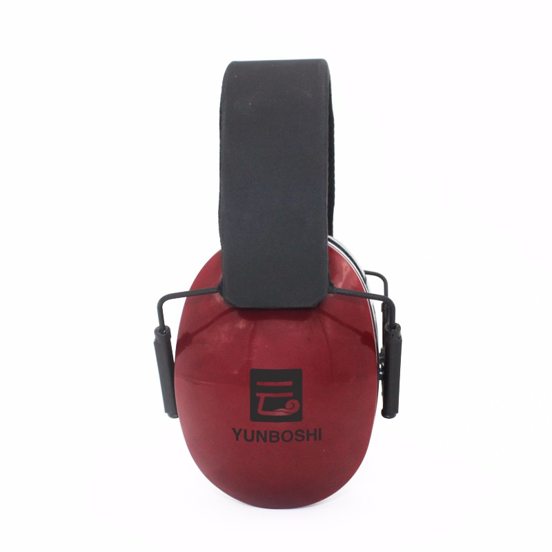 Color Logo Customized Adjustable Headband Sound Proof Earmuff , Safety Ear muff for Child and Adult