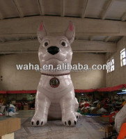 2015 Hot sale inflatable cartoon dog different style model replicas character figure mascot