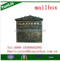 2015 new professional High quality to adopt advanced technology craft mailbox