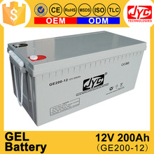 China manufacturer High Efficiency silicone gel battery 48v