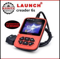 Good feedback Professional obd2 obdii code scanner 100% Original Launch X431 Creader VI Plus Code Reader free shipping via dhl