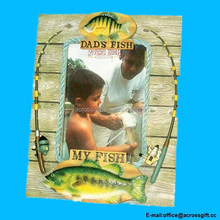 My Fish My Dads Fish Picture Frame