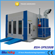 Car spray paint booth with top quality ventilation system (CE approved)