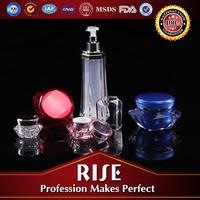 Professional design Cosmetics use Clear lotion bottles and packaging supplies