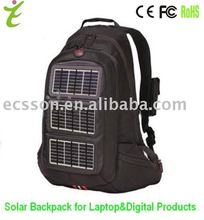 12000mAh solar charger bags for laptop & cellphone