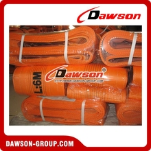 Dawson nylon polyester flat woven webbing sling 20T lifting belt with high strength