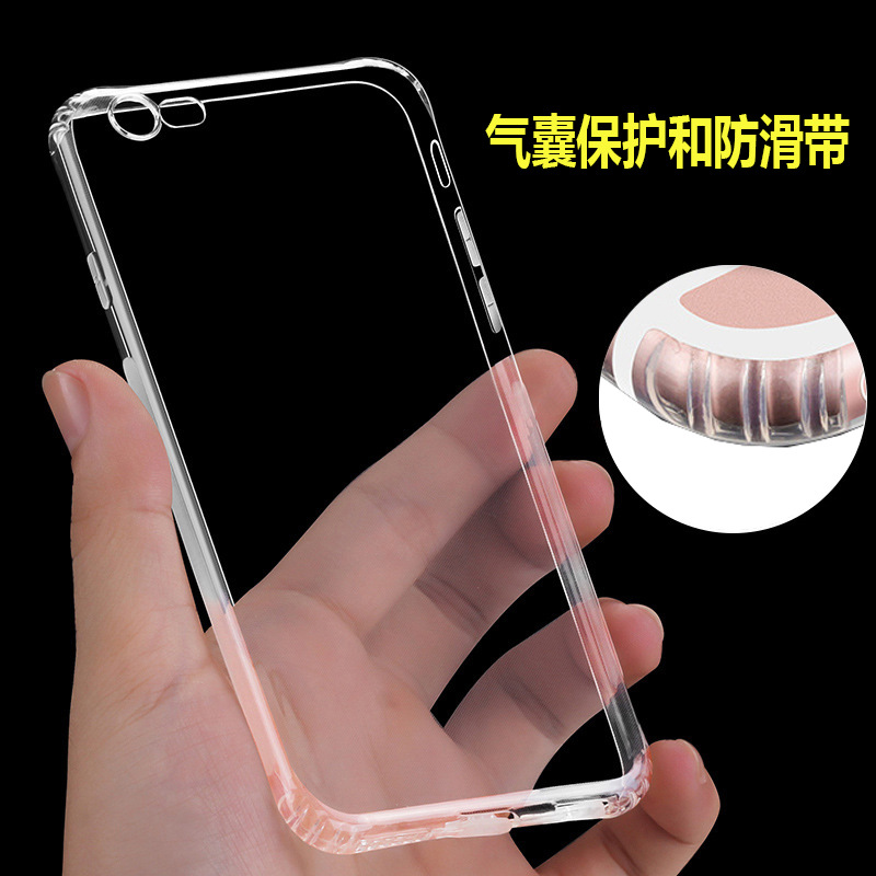 Transparent Clear Case for iPhone 7g 6 6S Case for iPhone 7 Plus 6 6s Plus Soft Silica Gel TPU Silicone Ultra Thin Phone Cover